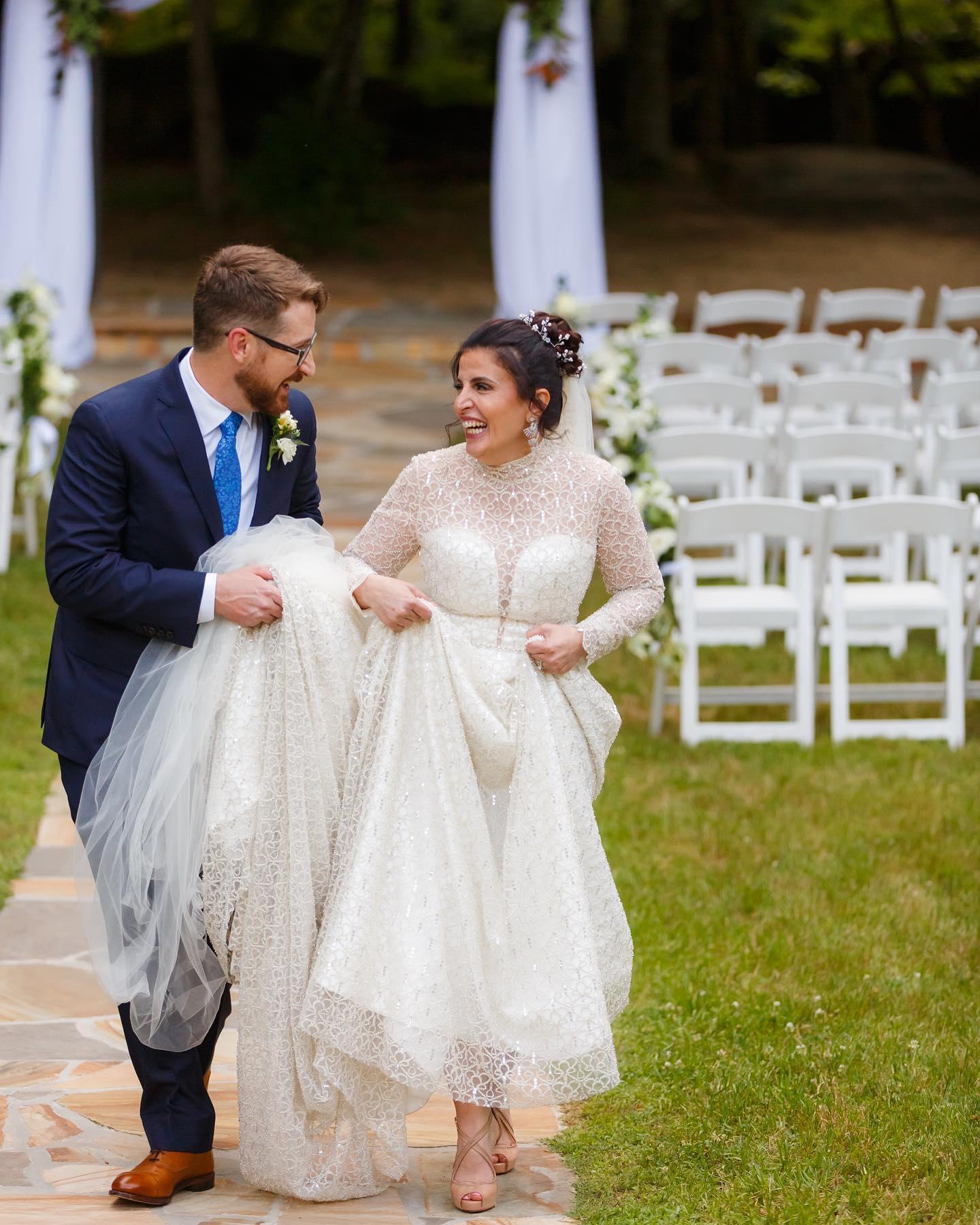 Image for post: Baydaa + Kelly's wedding at Vecoma