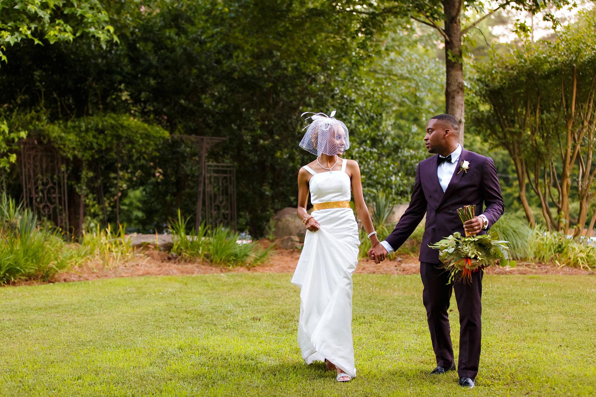 Real Atlanta Wedding: Alexis and Chasten's June Wedding at Vecoma