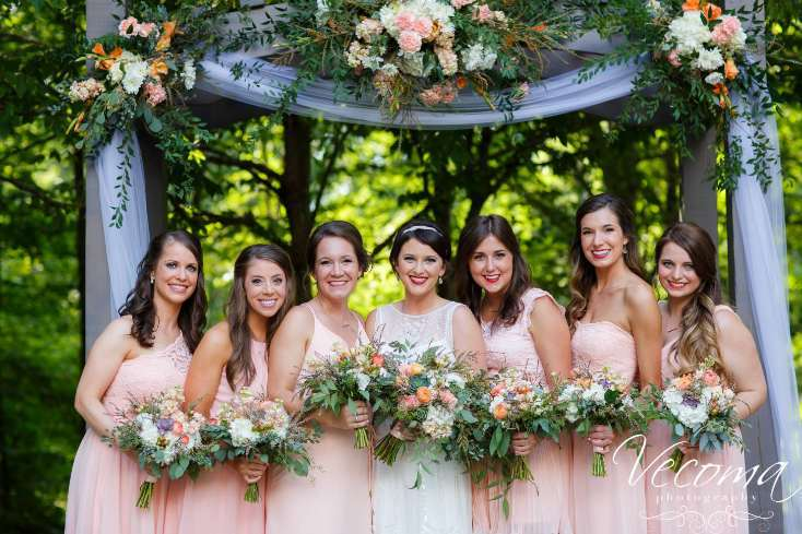 Some of Our Favorite Bridal Parties