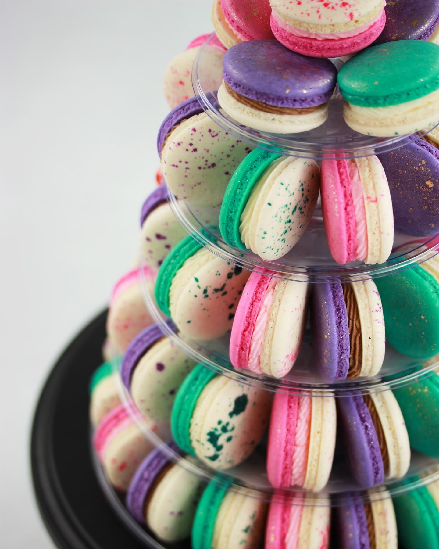 Engagement Party Macaron Tower
