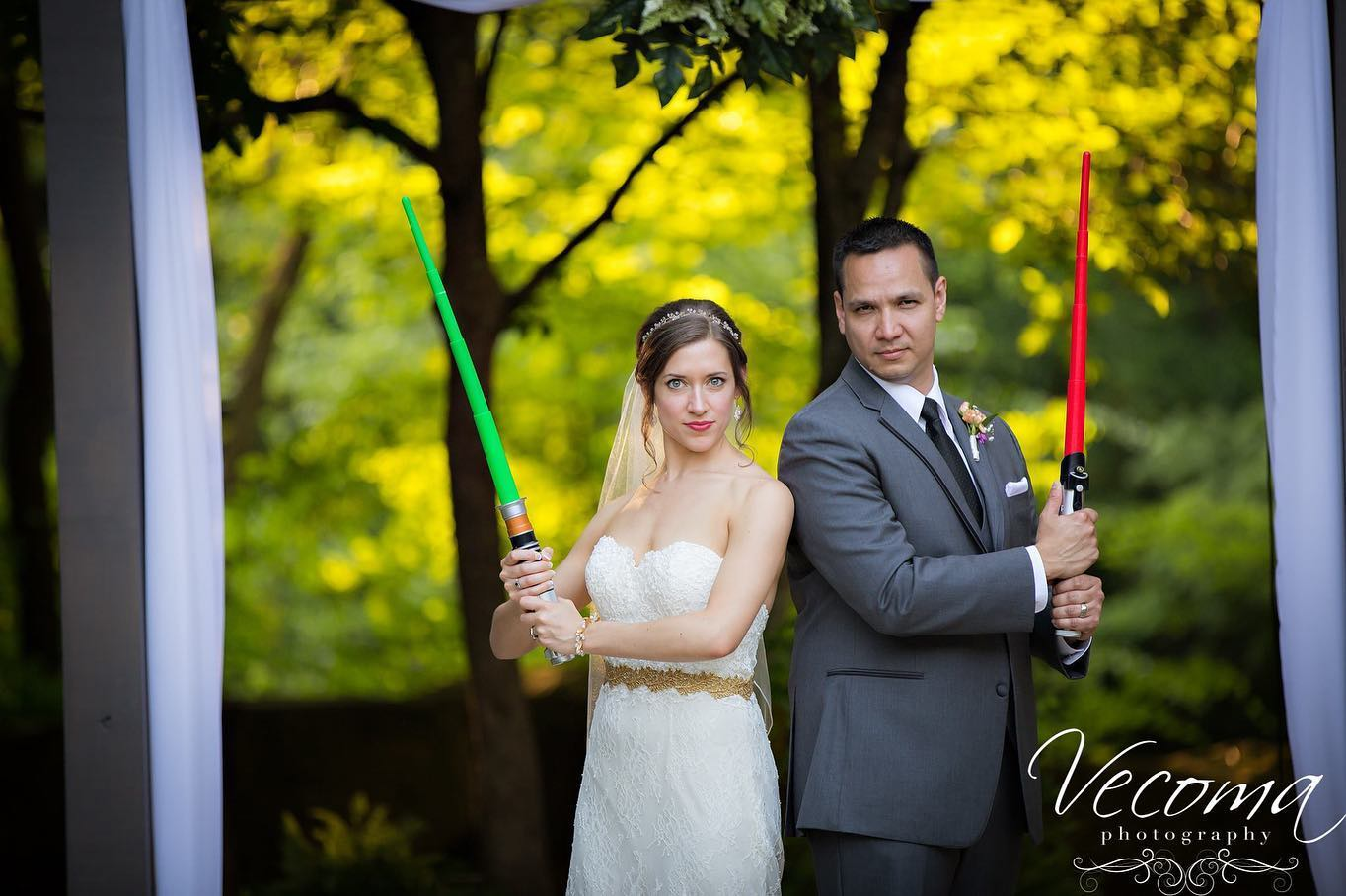 May the 4th Be With You: Star Wars Themed Wedding at Vecoma