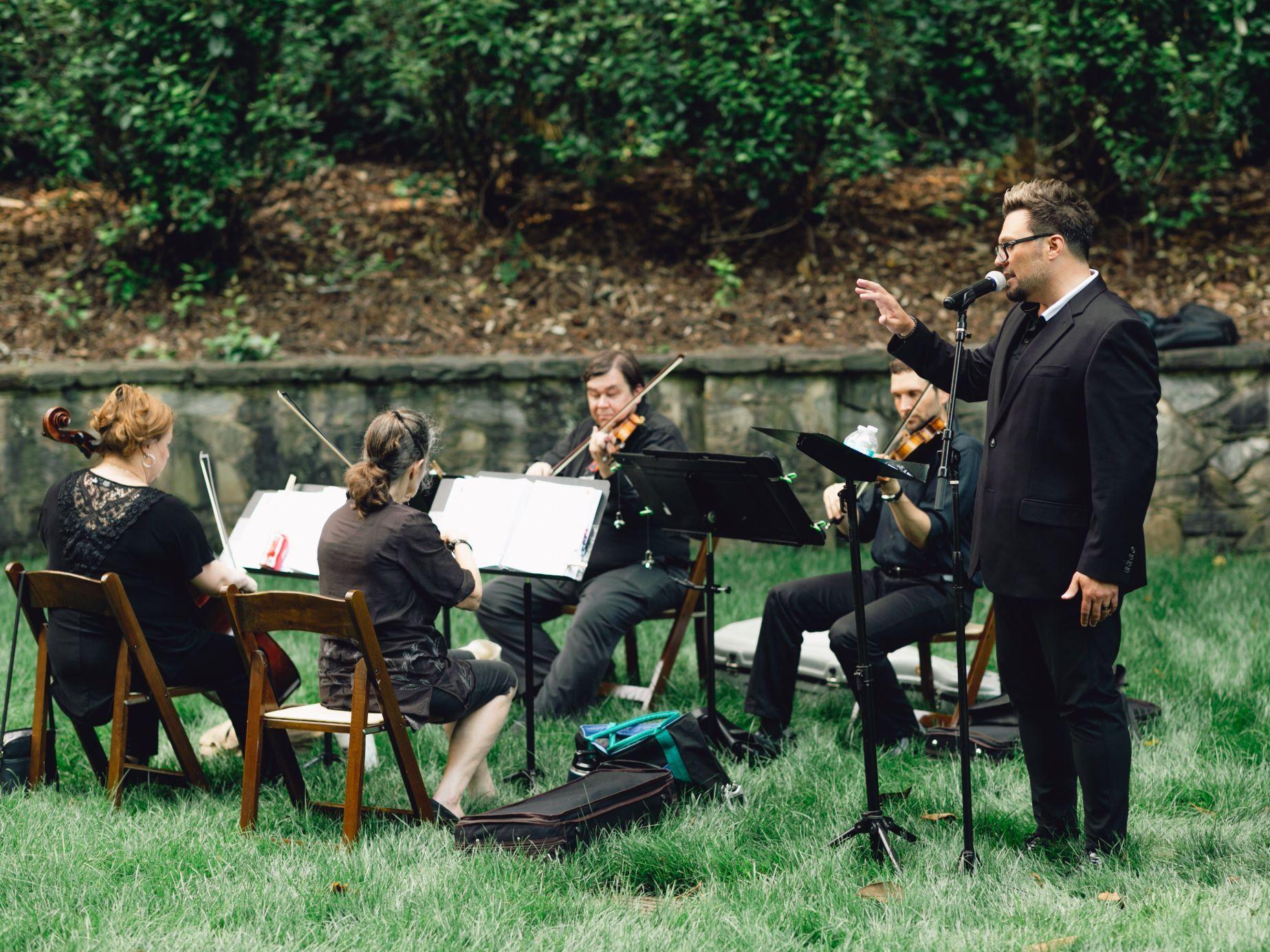 Ceremony Quartet at the Atlanta History Center!