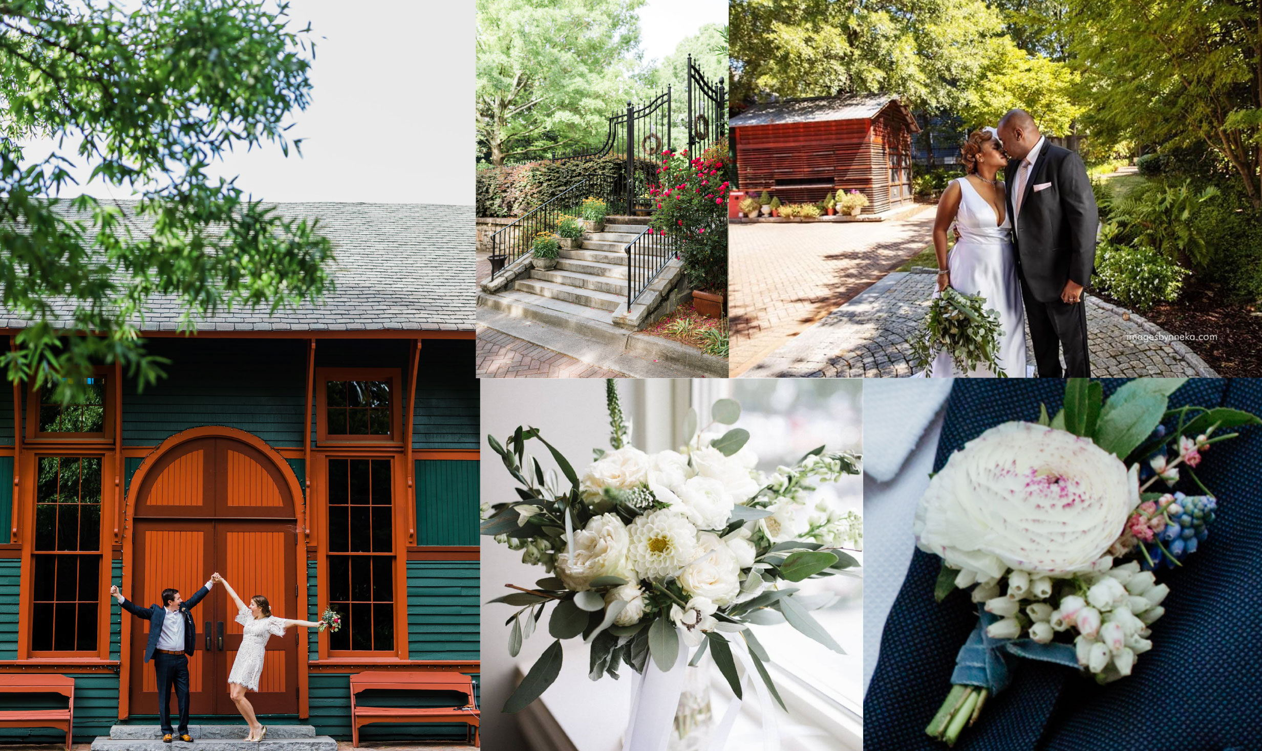 "Introducing ""simply ceremony"" by The Trolley Barn in Inman Park"