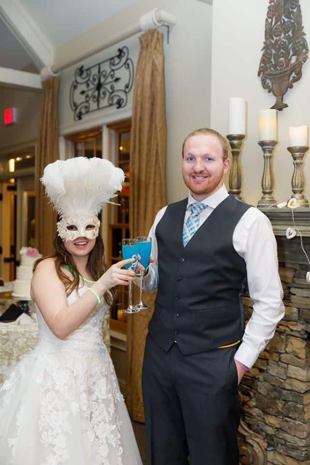 Wedding Masquerade at Vecoma