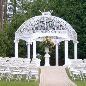 Garden Weddings: Affairs by Pinehurst Catering and Events Facility