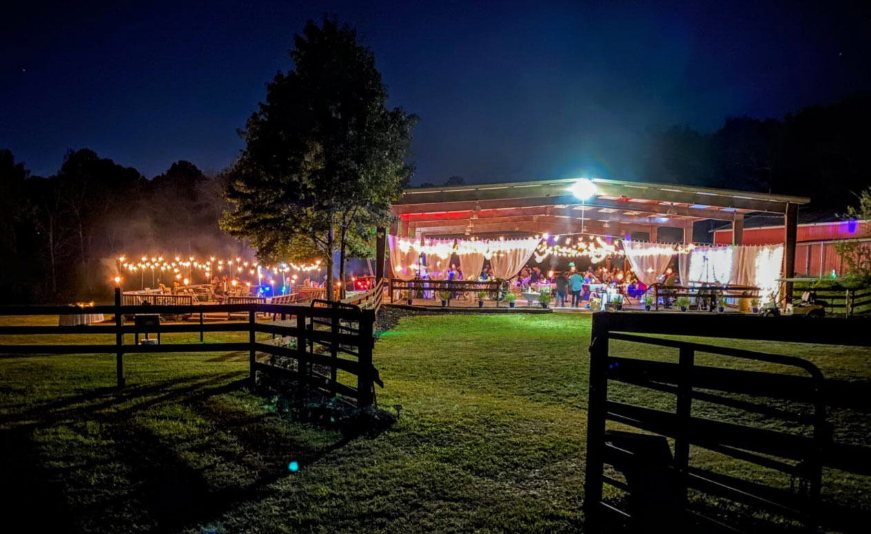 Welcome to another new venue County Line Ranch!