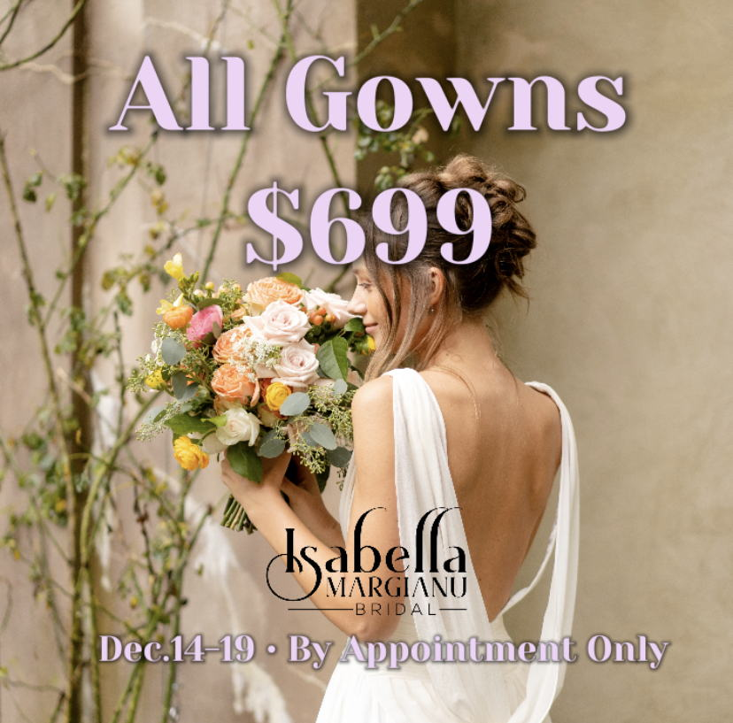 Image for post: Wedding Gown Sale!