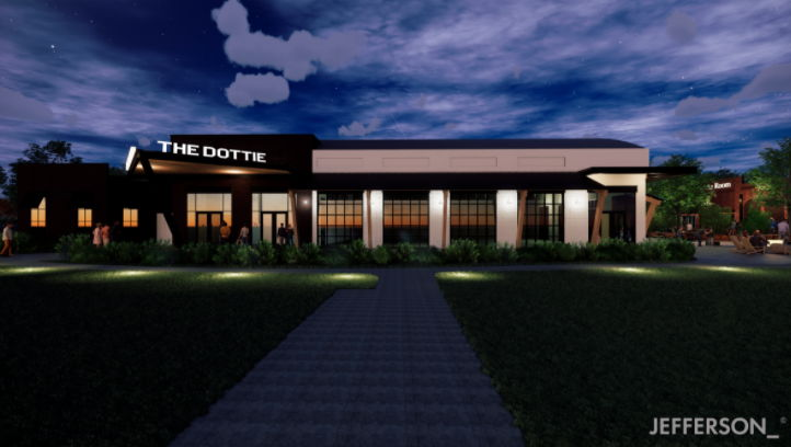 The Dottie at Triumph Station