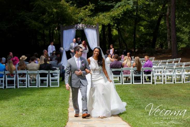 Outdoor Wedding Ceremonies at Vecoma
