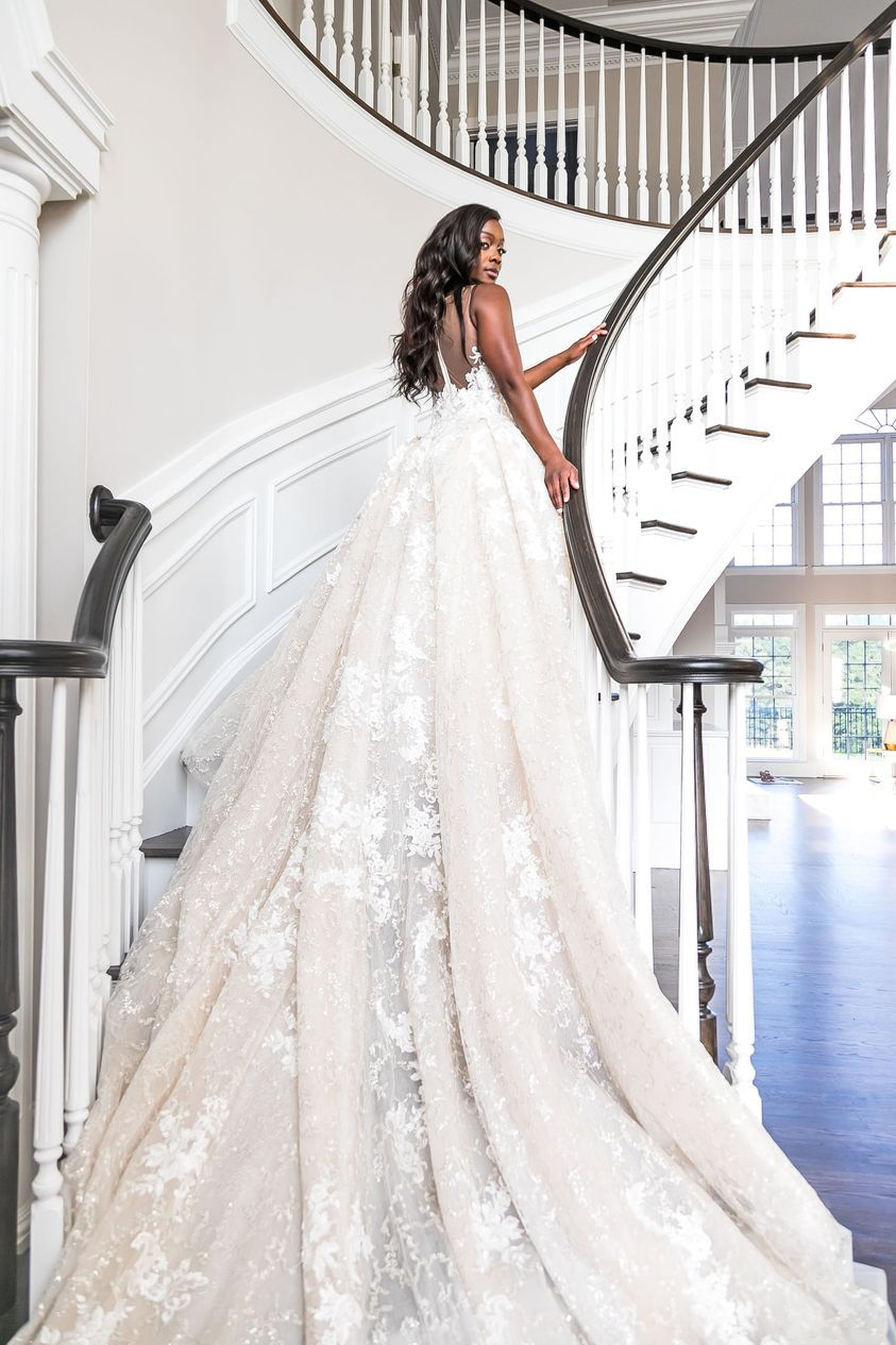 Stunning wedding gown from Isabella Margianu Bridal