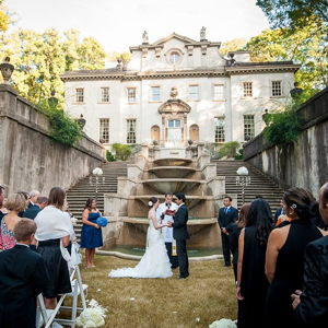 Outdoor Weddings and Parks: Swan House Gardens