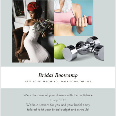 Bridal Bootcamps & Fitness: SWAT Team Fitness