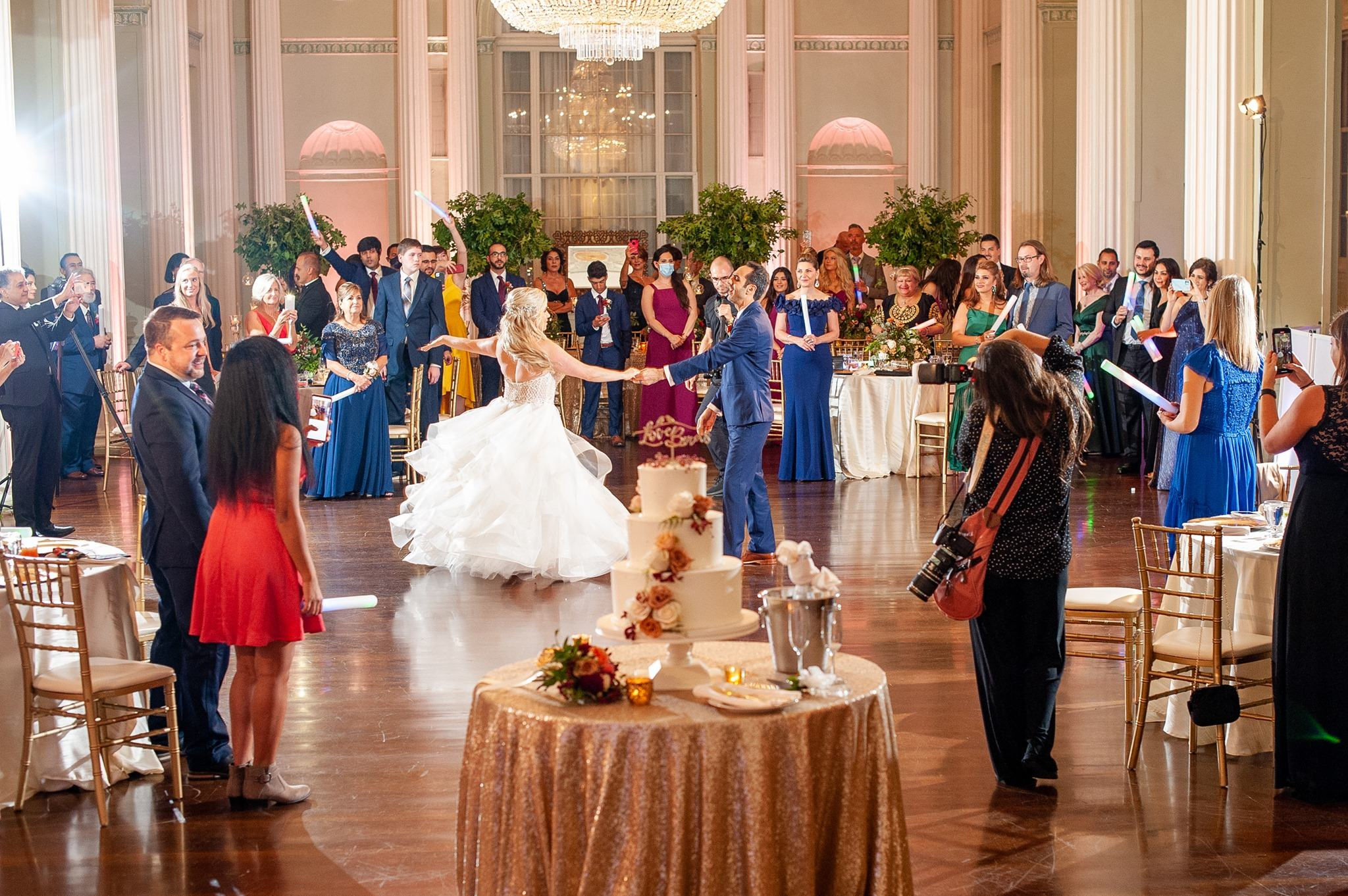 Ballroom Wedding at Biltmore by Paris Mountain Photography