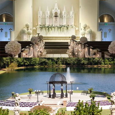 Garden Weddings: Pristine Chapel Lakeside